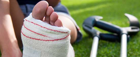5 Signs your Ankle Sprain Might be a Fracture