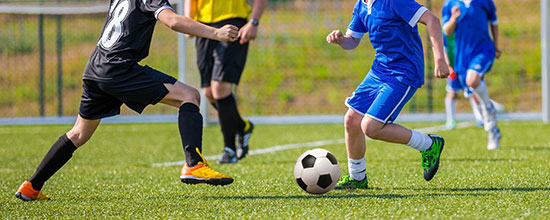 Children, Sports, and Foot Injuries: Young Ankles Take a Beating as Sports Start Opening Up Again