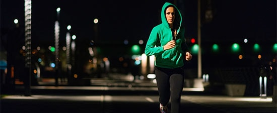 "Don't Fall Behind When You ""Fall Back""! Attack the Night with these Six Tips for Running in the Dark"