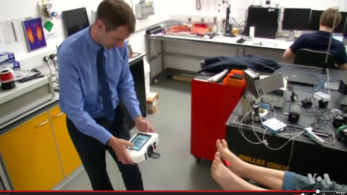 New Scanner Predicts Future Diabetic Foot Ulcers Right Before Your Eyes