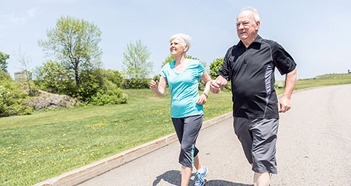 The Positive Effects of Brisk Walking for the Aging Brain