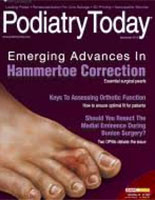 Therapies For Plantar Fasciopathy, Podiatry Today, University Foot and Ankle Instite